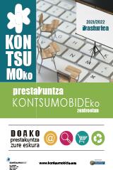 'Kontsumoko Prestakuntza Kontsumobideko Zentroetan' liburuxka'